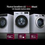 Lavadora lg turbo wash