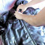Lavar chaqueta de cuero en lavadora