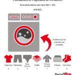 Peso de una lavadora
